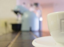 klein koffiezetapparaat